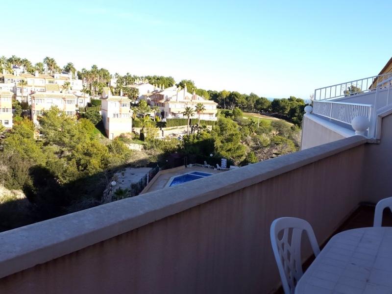 Dachterrassenwohnung mit Blick auf Golfplatz